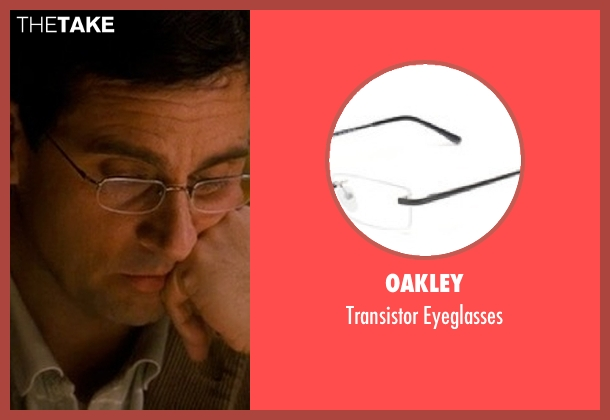 Oakley eyeglasses from Crazy, Stupid, Love. seen with Steve Carell (Cal Weaver)