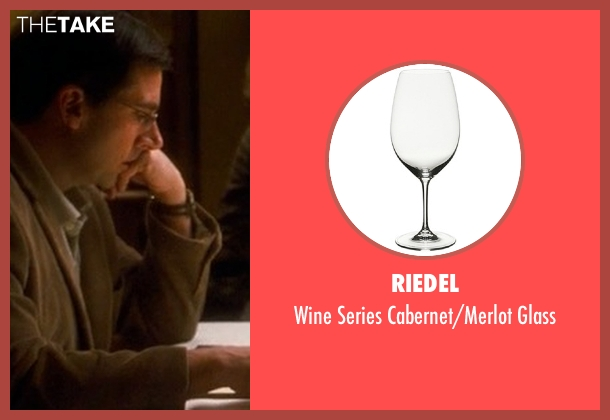 Riedel glass from Crazy, Stupid, Love. seen with Steve Carell (Cal Weaver)