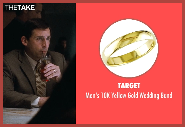 Target gold band from Crazy, Stupid, Love. seen with Steve Carell (Cal Weaver)