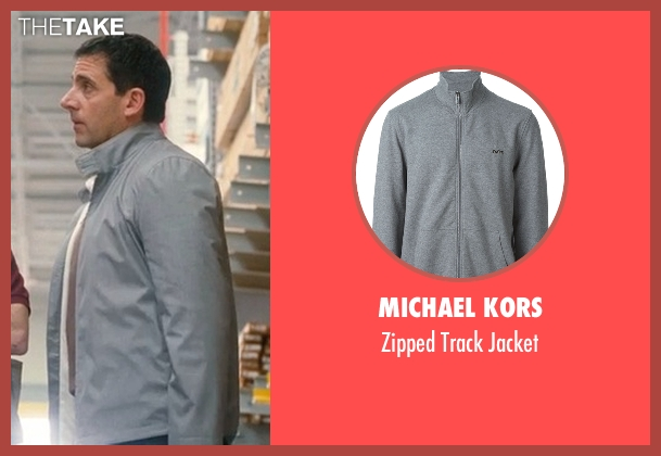 Michael Kors   gray jacket from Crazy, Stupid, Love. seen with Steve Carell (Cal Weaver)