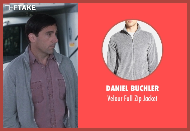 Daniel Buchler gray jacket from Crazy, Stupid, Love. seen with Steve Carell (Cal Weaver)