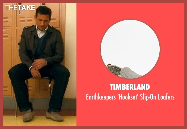 Timberland  gray loafers from Crazy, Stupid, Love. seen with Steve Carell (Cal Weaver)