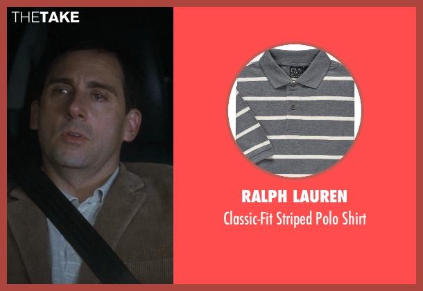 Ralph Lauren gray shirt from Crazy, Stupid, Love. seen with Steve Carell (Cal Weaver)