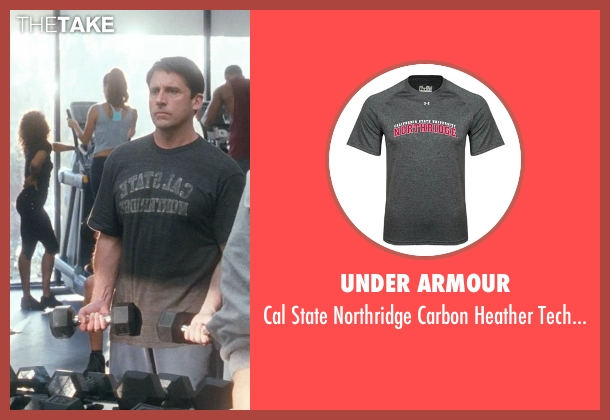 Under Armour gray t-shirt from Crazy, Stupid, Love. seen with Steve Carell (Cal Weaver)