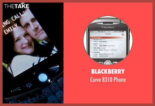 Blackberry phone from Crazy, Stupid, Love. seen with Steve Carell (Cal Weaver)