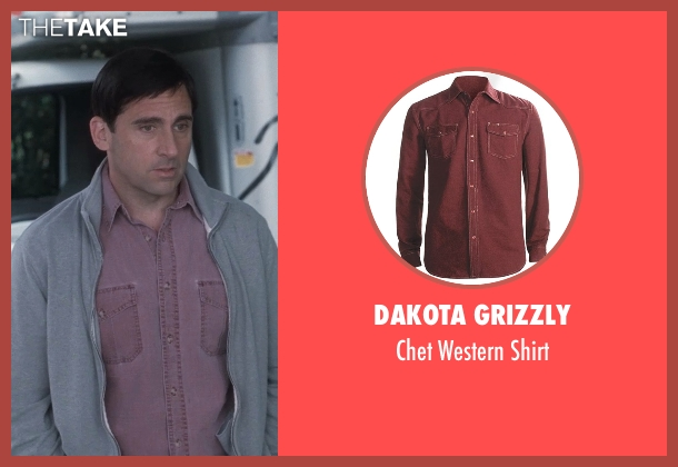 Dakota Grizzly shirt from Crazy, Stupid, Love. seen with Steve Carell (Cal Weaver)