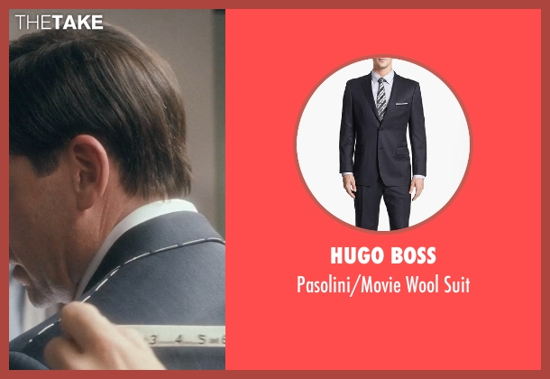 Hugo Boss suit from Crazy, Stupid, Love. seen with Steve Carell (Cal Weaver)
