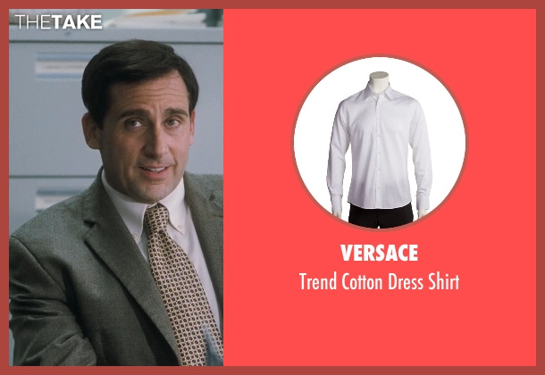 Versace white shirt from Crazy, Stupid, Love. seen with Steve Carell (Cal Weaver)