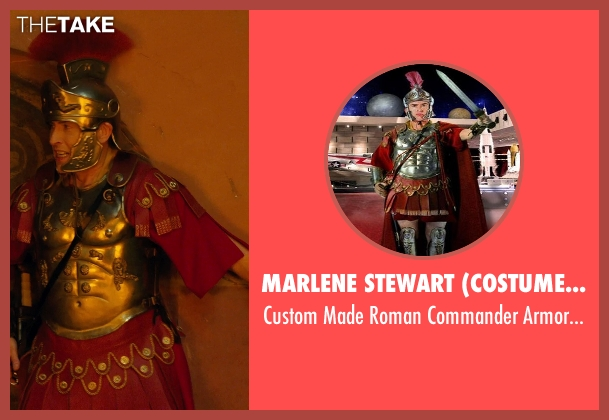 Marlene Stewart (Costume Designer) costume from Night at the Museum: Secret of the Tomb seen with Steve Coogan (Octavius)