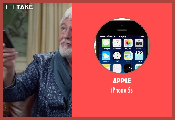 Apple 5s from Dumb and Dumber To seen with Steve Tom (Dr. Pichlow)