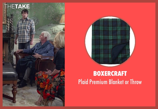 Boxercraft throw from Dumb and Dumber To seen with Steve Tom (Dr. Pichlow)