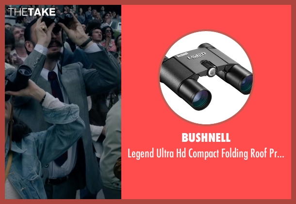 Bushnell binoculars from The Walk seen with Steve Valentine (Barry Greenhouse)