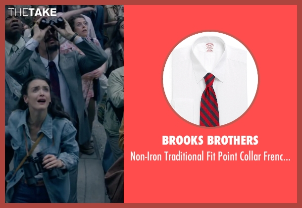 Brooks Brothers white shirt from The Walk seen with Steve Valentine (Barry Greenhouse)