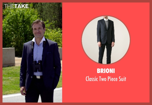 Brioni blue suit from Need for Speed seen with Stevie Ray Dallimore (Bill Ingram)