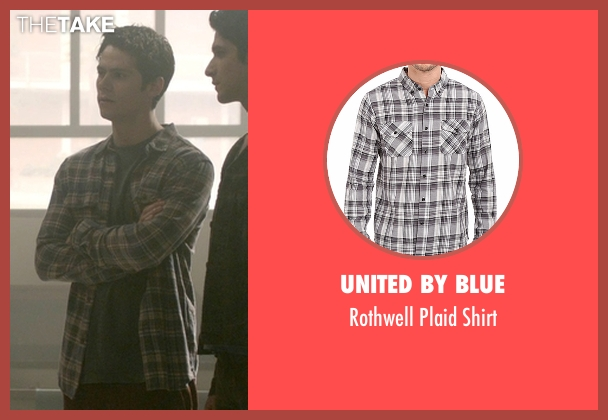 United By Blue gray shirt from Teen Wolf seen with Stiles Stilinski / Nogitsune (Dylan O'Brien)