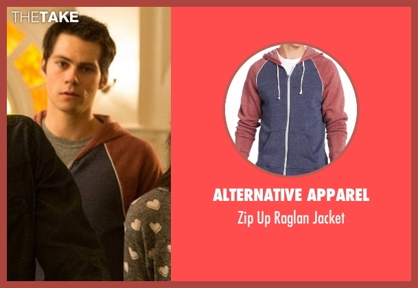 Alternative Apparel jacket from Teen Wolf seen with Stiles Stilinski / Nogitsune (Dylan O'Brien)