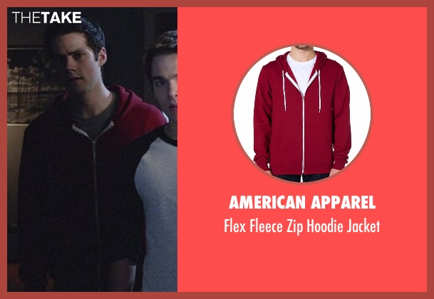 American Apparel red jacket from Teen Wolf seen with Stiles Stilinski / Nogitsune (Dylan O'Brien)