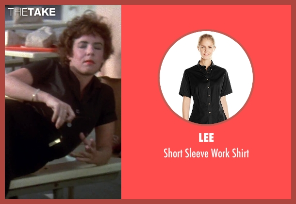 Lee black shirt from Grease seen with Stockard Channing (Rizzo)