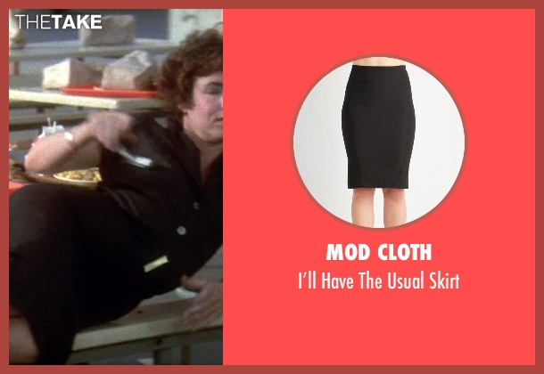 Mod Cloth black skirt from Grease seen with Stockard Channing (Rizzo)