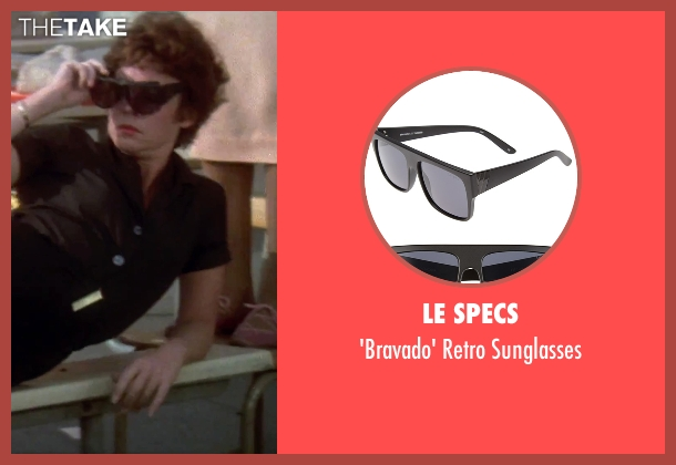 Le Specs black sunglasses from Grease seen with Stockard Channing (Rizzo)