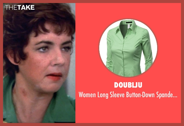 Doublju green shirt from Grease seen with Stockard Channing (Rizzo)