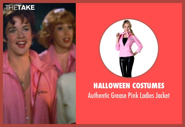Halloween Costumes pink jacket from Grease seen with Stockard Channing (Rizzo)