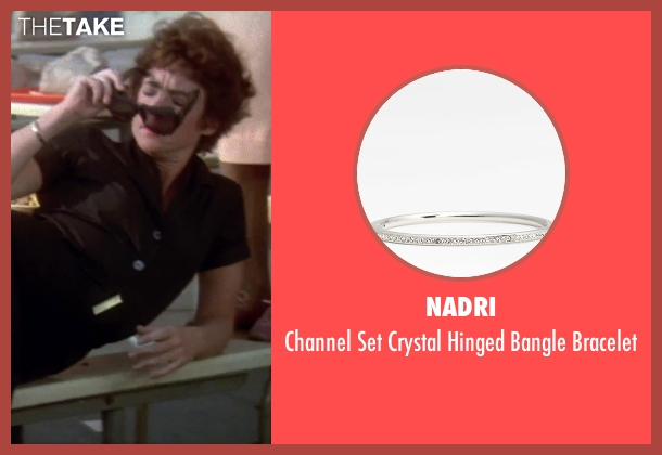 Nadri silver bracelet from Grease seen with Stockard Channing (Rizzo)