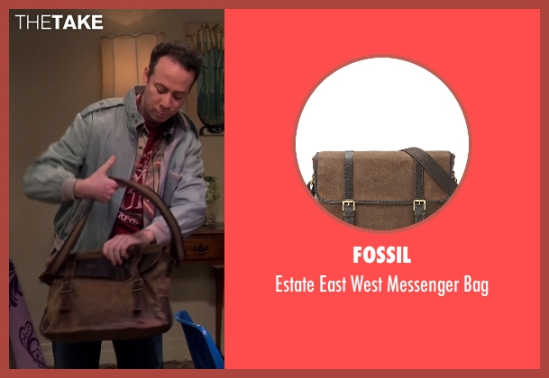 Fossil brown bag from The Big Bang Theory seen with Stuart Bloom (Kevin Sussman)