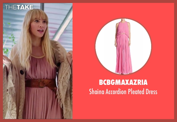 BCBGMAXAZRIA pink dress from Love, Rosie seen with Suki Waterhouse (Bethany)