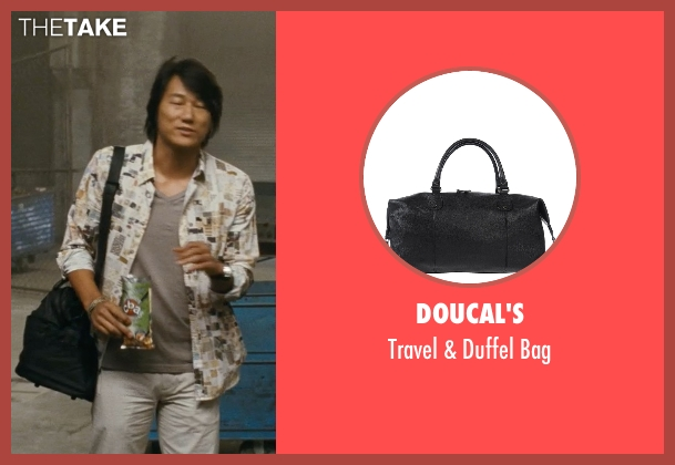 Doucal's black bag from Fast Five seen with Sung Kang (Han)