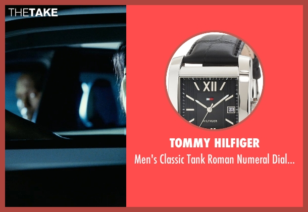 Tommy Hilfiger black watch from Fast Five seen with Sung Kang (Han)