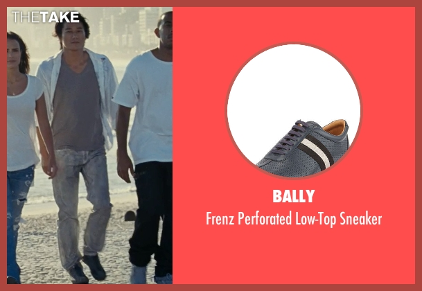 Bally blue sneaker from Fast Five seen with Sung Kang (Han)