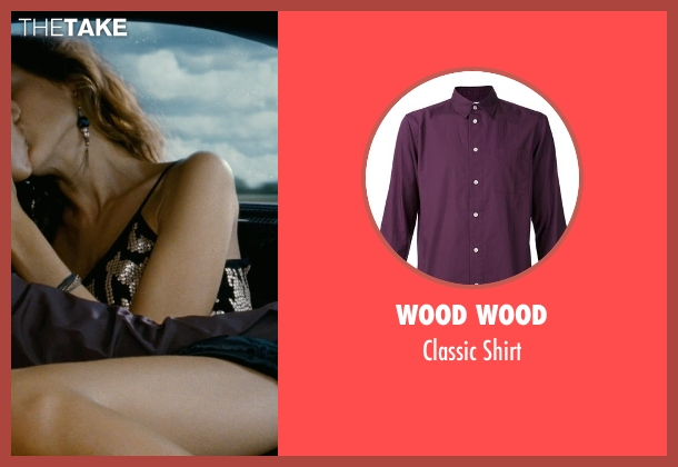 Wood Wood purple shirt from Fast Five seen with Sung Kang (Han)