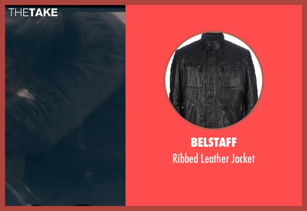 Belstaff black jacket from Fast & Furious 6 seen with Sung Kang (Han)