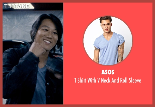 ASOS blue sleeve from Fast & Furious 6 seen with Sung Kang (Han)