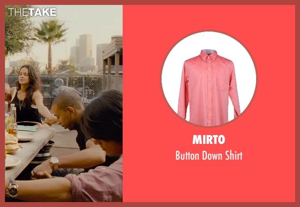 Mirto pink shirt from Furious 7 seen with Sung Kang (Han)