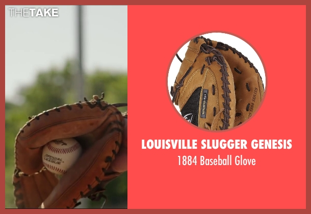 Louisville Slugger Genesis glove from Million Dollar Arm seen with Suraj Sharma (Rinku)