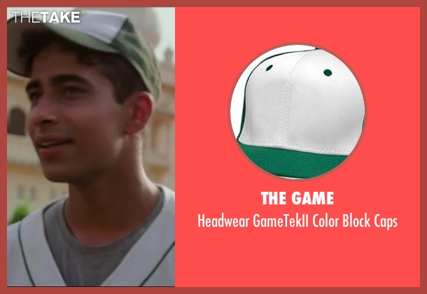 The Game green caps from Million Dollar Arm seen with Suraj Sharma (Rinku)