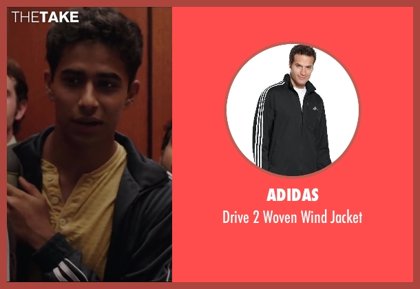 Adidas jacket from Million Dollar Arm seen with Suraj Sharma (Rinku)