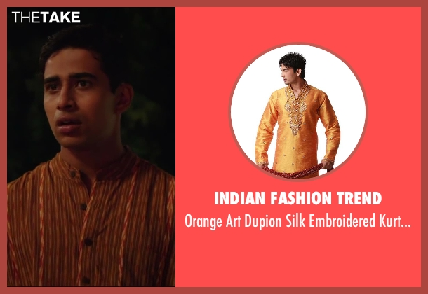 Indian Fashion Trend mens from Million Dollar Arm seen with Suraj Sharma (Rinku)