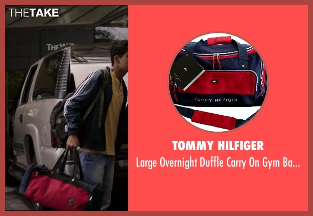 Tommy Hilfiger red from Million Dollar Arm seen with Suraj Sharma (Rinku)