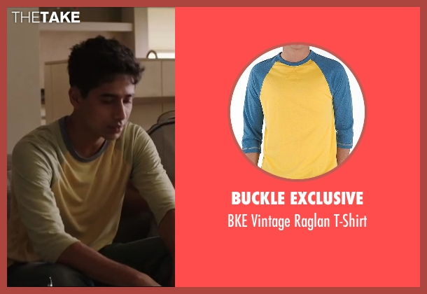 BUCKLE EXCLUSIVE t-shirt from Million Dollar Arm seen with Suraj Sharma (Rinku)