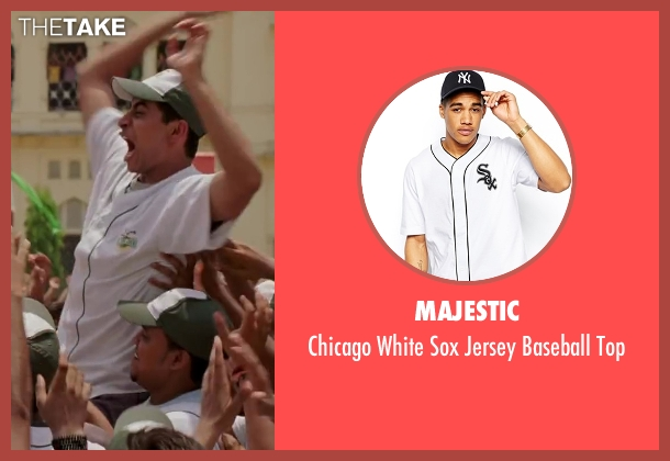 Majestic white top from Million Dollar Arm seen with Suraj Sharma (Rinku)