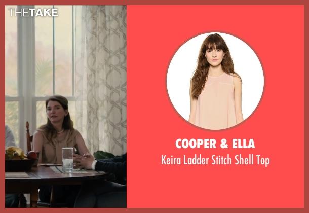 Cooper & Ella beige top from Paper Towns seen with Susan Macke Miller (Mrs. Spiegelman)