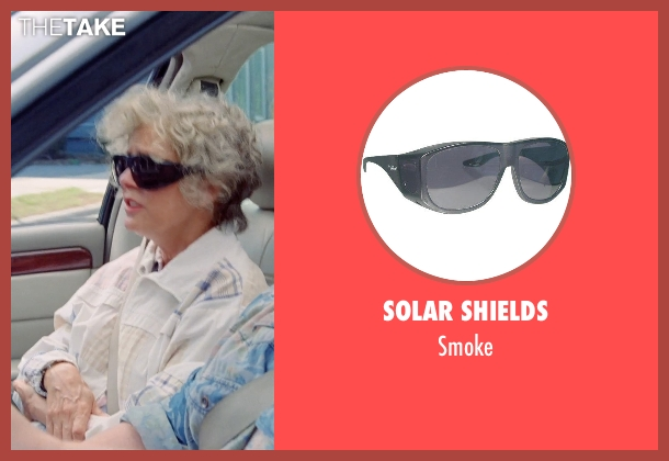 Solar Shields black smoke from Tammy seen with Susan Sarandon (Pearl)