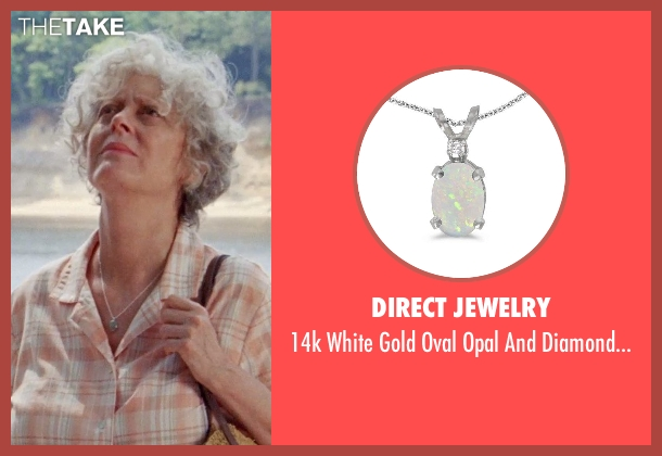 Direct Jewelry pendant from Tammy seen with Susan Sarandon (Pearl)