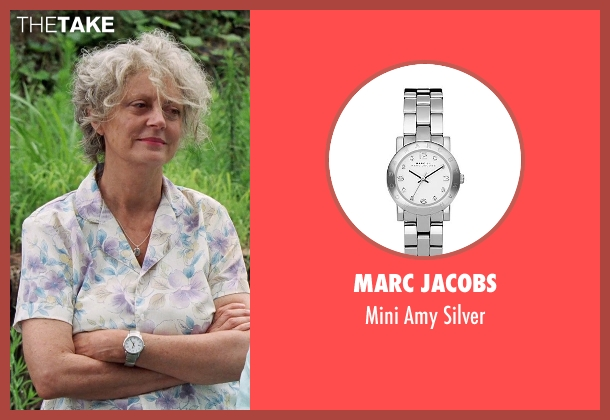 Marc Jacobs silver silver from Tammy seen with Susan Sarandon (Pearl)