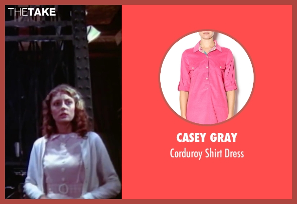 Casey Gray pink dress from The Rocky Horror Picture Show seen with Susan Sarandon (Janet Weiss)