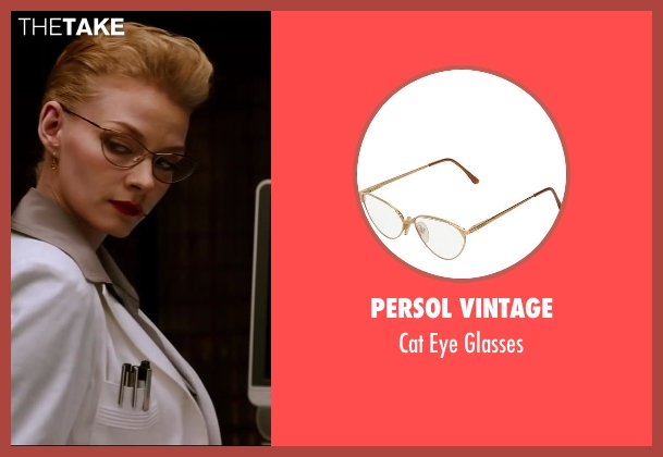 Persol Vintage glasses from The Wolverine seen with Svetlana Khodchenkova (Viper)