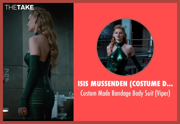 Isis Mussenden (Costume Designer) suit from The Wolverine seen with Svetlana Khodchenkova (Viper)